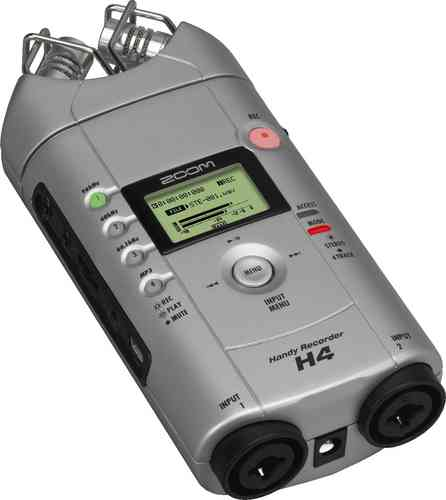 Zoom H4 Handheld Digital Recorder