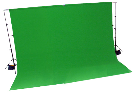 Greenscreen-Set, Chroma-Key