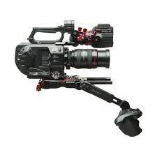 Sony PXW-FS7 Body + Zacuto Shoulder-Rig + Metabones-Adapter (inkl. V-Mount Adapter)