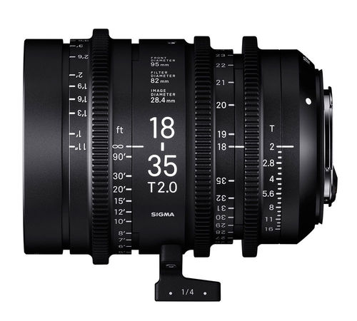 Sigma High Speed Zoom 18-35 T2,0 EF-Mount
