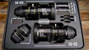 DZOFILM Bundle Pictor Zoom Lens 29-55 + 50-125  T2.8 (EF- oder PL-Mount)